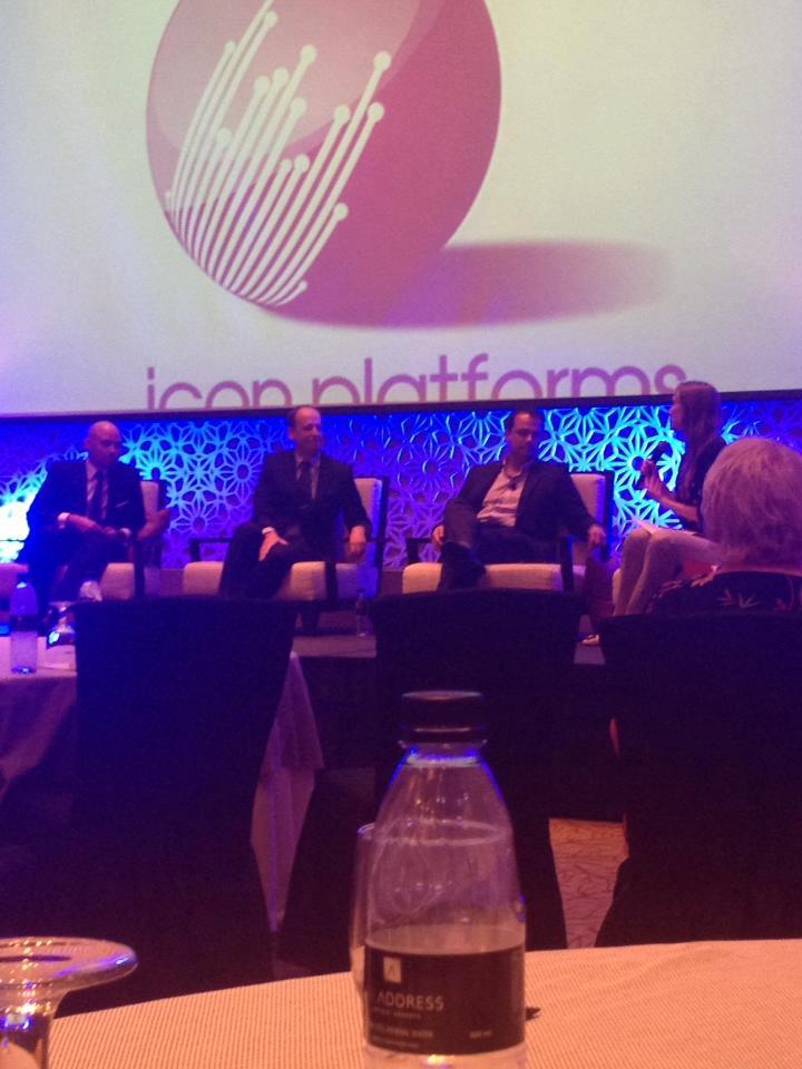 Tariq Seksek panelist at cetme2013